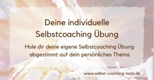 Selbstcoaching Übung